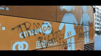 Ahora; Contra la transfobia frente al ayuntamiento de Santander