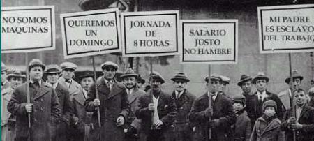 Resultado de imagen de movimiento obrero