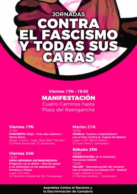 Jornadas contra el fascismo y todas sus caras - Librerias torrelavega ...