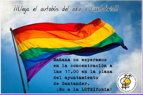 Concentración No a la Lgtifobia!