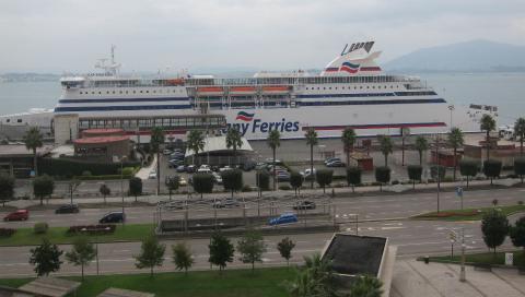 Tres personas son detenidas en las inmediaciones del puerto de Santander