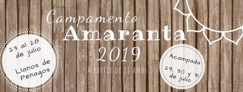 La asociación Amaranta convoca un campamento en torno a la desobediencia