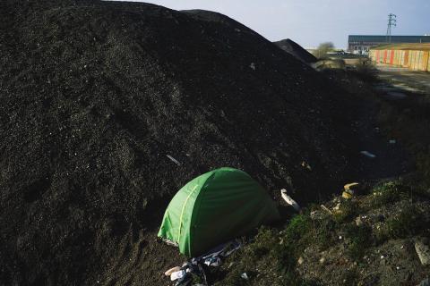 Calais, la rutina de la frontera
