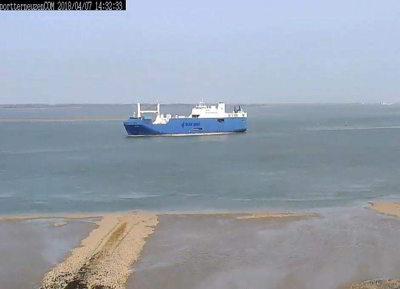 Un nuevo barco con armas se acerca a Santander