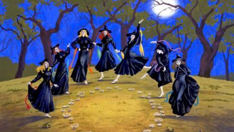 La caza de brujas y la división de las clases populares