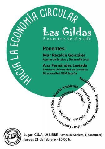 Encuentro de té y café Las Gildas: Economía Circular