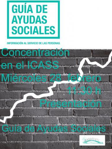 Concentración - Presentación Guía de Ayudas Sociales