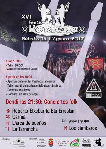 Festival de Folk de Borleña 2017