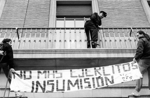 30 años de insumisión, el movimiento que llenó calles y cárceles de desobediencia civil