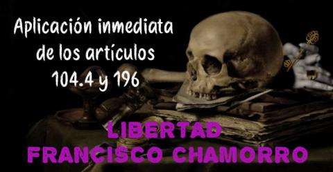 Francisco Chamorro, preso gravemente enfermo, debe ser excarcelado