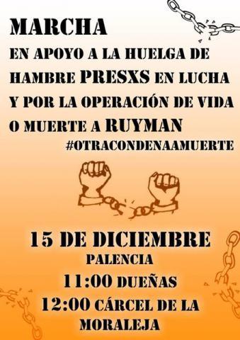 Marcha a la cárcel de La Moraleja ¡OPERACIÓN YA!