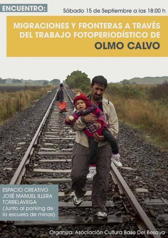 Migraciones y fronteras a través del trabajo fotoperiodístico de Olmo Calvo