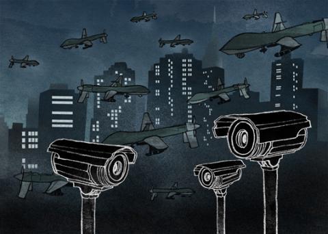 Ni cárceles, ni bandas electrónicas: destruyamos la ciudad-vigilada