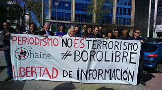 Aplazado el juicio a BoroLH por incomparecencia de la policía