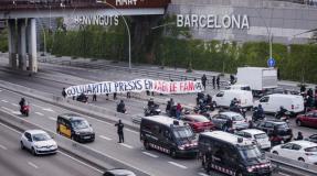 Quince imputadas por participar en una acción solidaria con la huelga de hambre de presxs en lucha de mayo