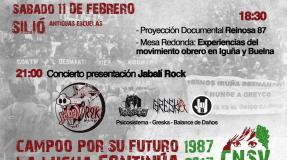 Jornada del movimiento Obrero en Iguña y Buelna