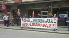 """(Acoso Patronal) Detenidas dos anarcosindicalistas por un conflicto laboral con la pastelería """"La Suiza"""""""