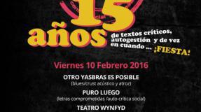 Fiesta 15 aniversario de La Libre en el 'Rock Beer The New'. Santander. Cantabria