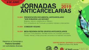 Jornadas anticarcelarias junio (último evento 2019)