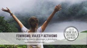 Taller; Viajar solas sin dinero y sin miedo a cargo de Elisa Coli Blanco