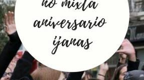 Fiesta no mixta Aniversario Ijanas