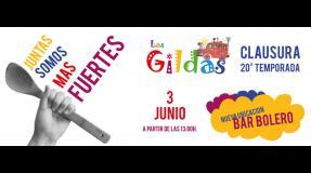 Las Gildas, clausura 20ª temporada