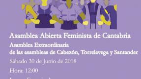 Asamblea extraordinaria abierta feminista
