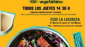 Comedor sermanal de apoyo a la feria del libro anarquista de Santander