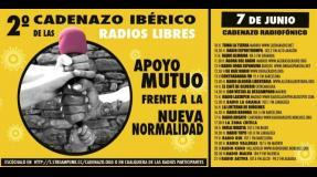 2º Cadenazo Ibérico de las radios libres: apoyo mutuo frente a la nueva normalidad