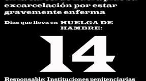 Carmen Badía Lachos, 14 días en huelga de hambre