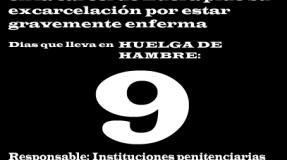 Carmen Badía Lachos, 9 días en huelga de hambre