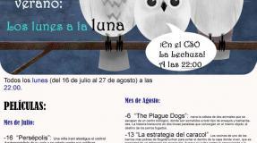 Cine de verano Los Lunes a la luna - Los espigadores-