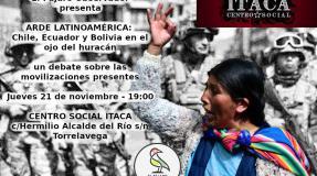 El Pájaro Observador vuela a Latinoamerica haciendo parada en el CS Itaca