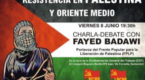 Charla-Debate en apoyo a Palestina