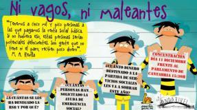 Concentración Andarivel: No te dejes llamar delincuente