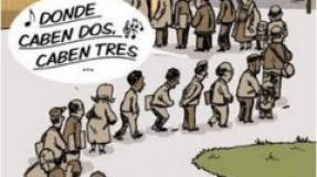 """Paradas/os y Precarios/as """"Sin Fronteras"""""""