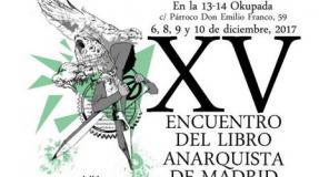 Se acerca el encuentro del libro anarquista de Madrid XV