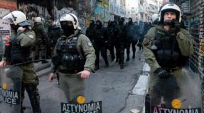 Exarchia bajo ocupación policial
