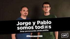 Concentración contra la sentencia a Jorge y Pablo