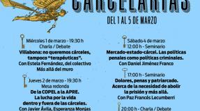 """Mesa redonda: """"De la COPEL a la APRE. La lucha por la vida dentro y fuera de las cárceles"""" con Javier Ávila, Anchy y Manolo"""