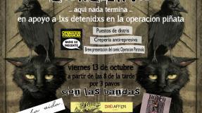 Concierto en apoyo a lxs detenidxs en la operación Piñata