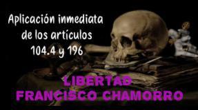 Cartas de Francisco Chamorro, preso enfermo muy grave de cáncer