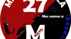 Llamamiento a la participacion en la manifestación convocada por las Marchas de la Dignidad el 27 de mayo