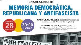 """""""Memoria democrática, republicana y antifascista"""" con Marisol González y Javier Lezaola"""
