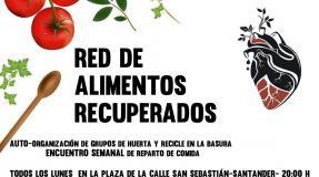 Nace la red de alimentos recuperados (Santander)