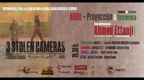 """Proyección del documental """"3 cámaras robadas"""""""