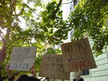 #HermanaNoEstásSola (Comunicado de CNT sobre la sentencia 'La Manada')
