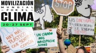 El jueves 19 de septiembre, os esperamos en el nido para informarnos y reflexionar sobre la Huelga Mundial por el Clima