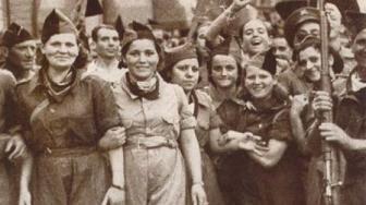 Entrevista a Abel Paz sobre la Revolución Social española que comenzó el 19 de julio de 1936